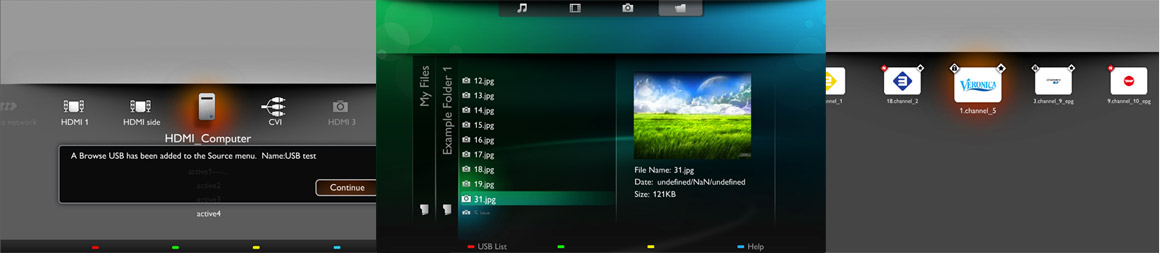 PHILIPS Smart TV UI/UX